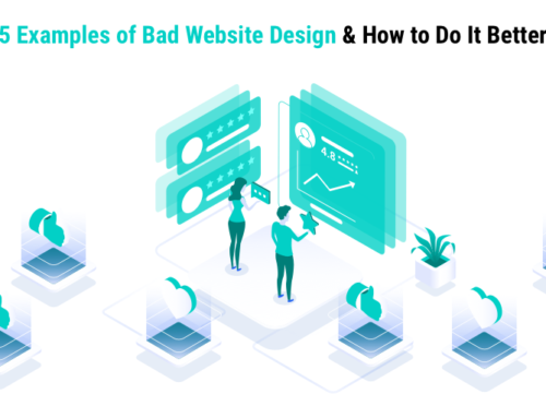 5 Examples of Bad Website Design and How to Do It Better