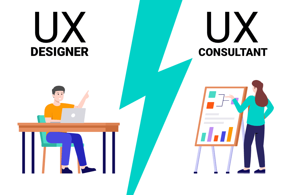 Here are the differences between a UX designer and UX consultant, and tips to know who to hire from WANDR.