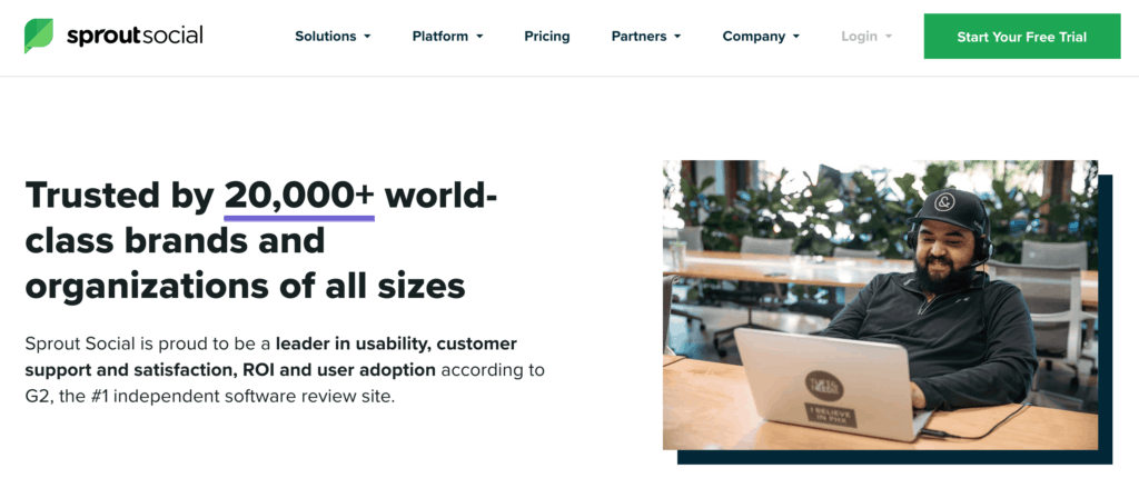 Sprout Website Design