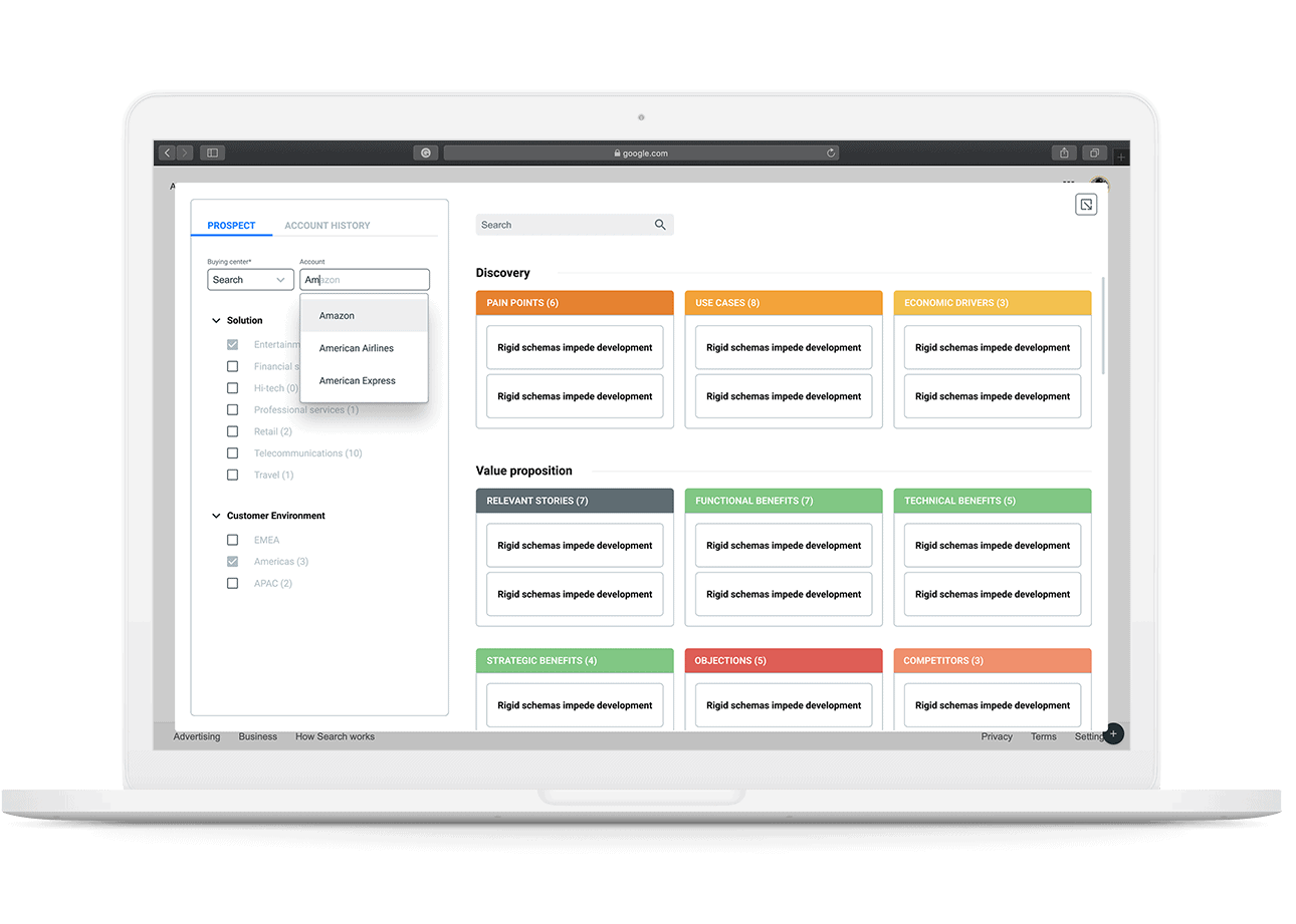 sales CRM operational dashboard example designed by the designers of WANDR, best UX Design Agency and Product Design