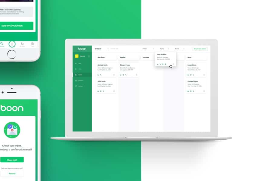 Boon, Client Case Study for WANDR Product Strategy & UX Design Firm in Los Angeles