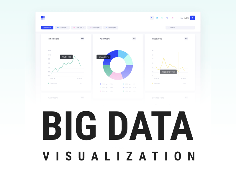Big data visualization brought to you by WANDR, leader Product Strategy and UX Design Agency