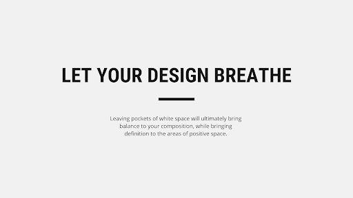 let your design breath to be a best looking website by WANDR