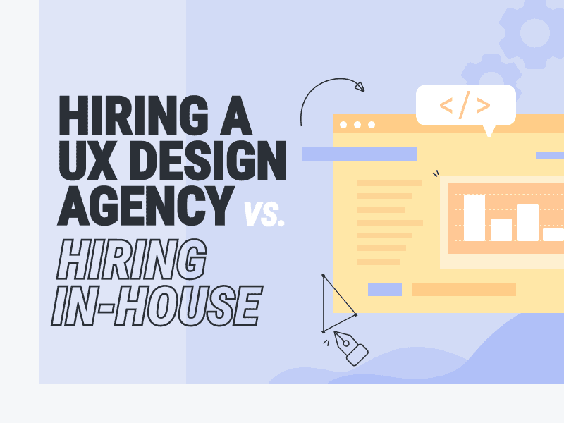 Hiring A UX Design Agency vs. Hiring In-House brought to you by WANDR, the leading Product Strategy and UX Design Firm